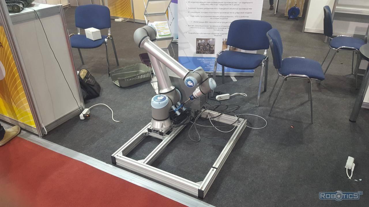 "Universal Robots company robot presented by BrSTU at ""TIBO-2021"""