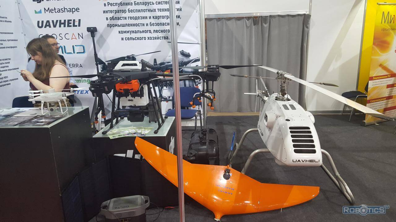 """Unmanned aerial vehicles on """"TIBO-2021"""""""