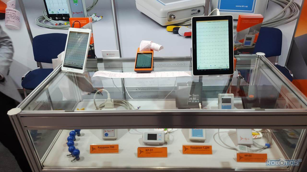 """Modern devices and tools of medical diagnostics on """"TIBO-2021"""""""
