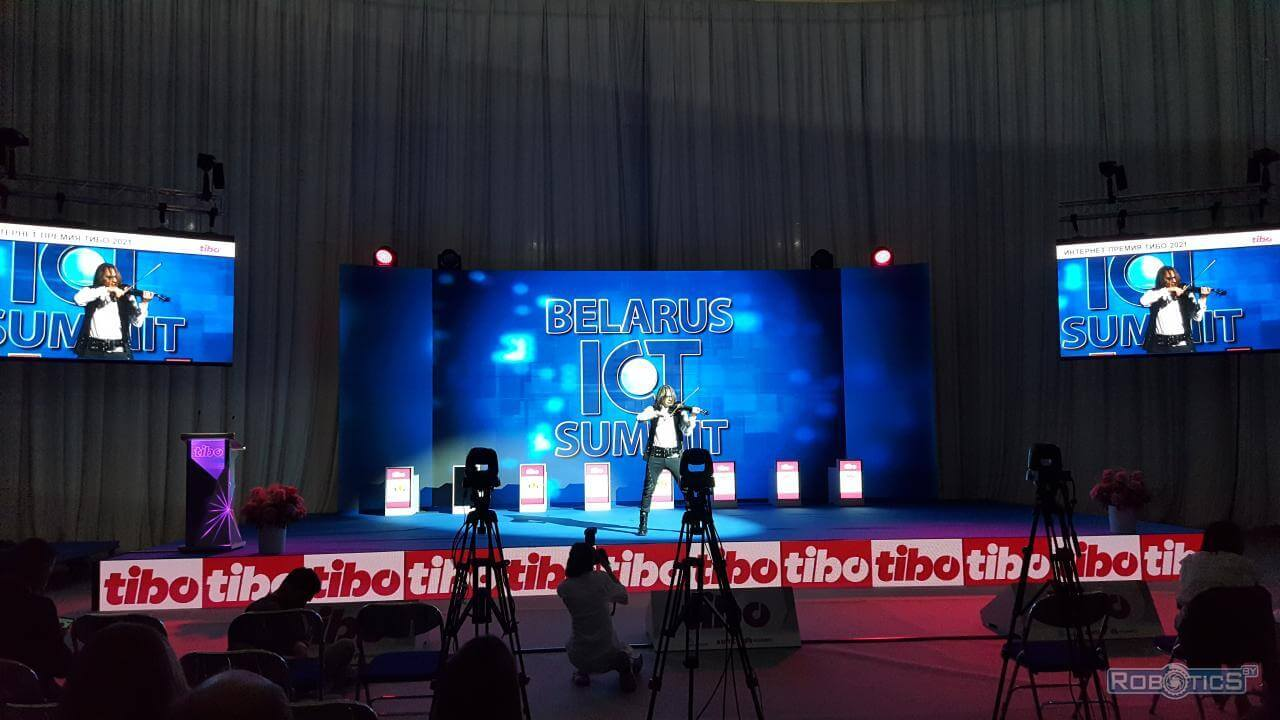 """Performance by pop performers at """"TIBO-2021"""""""