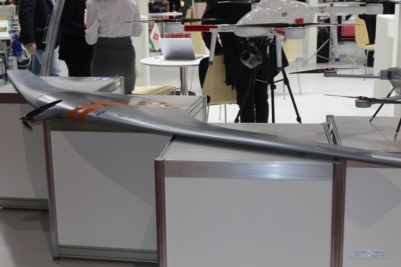 "Unmanned aerial vehicles at the ""TIBO-2019"" exhibition"
