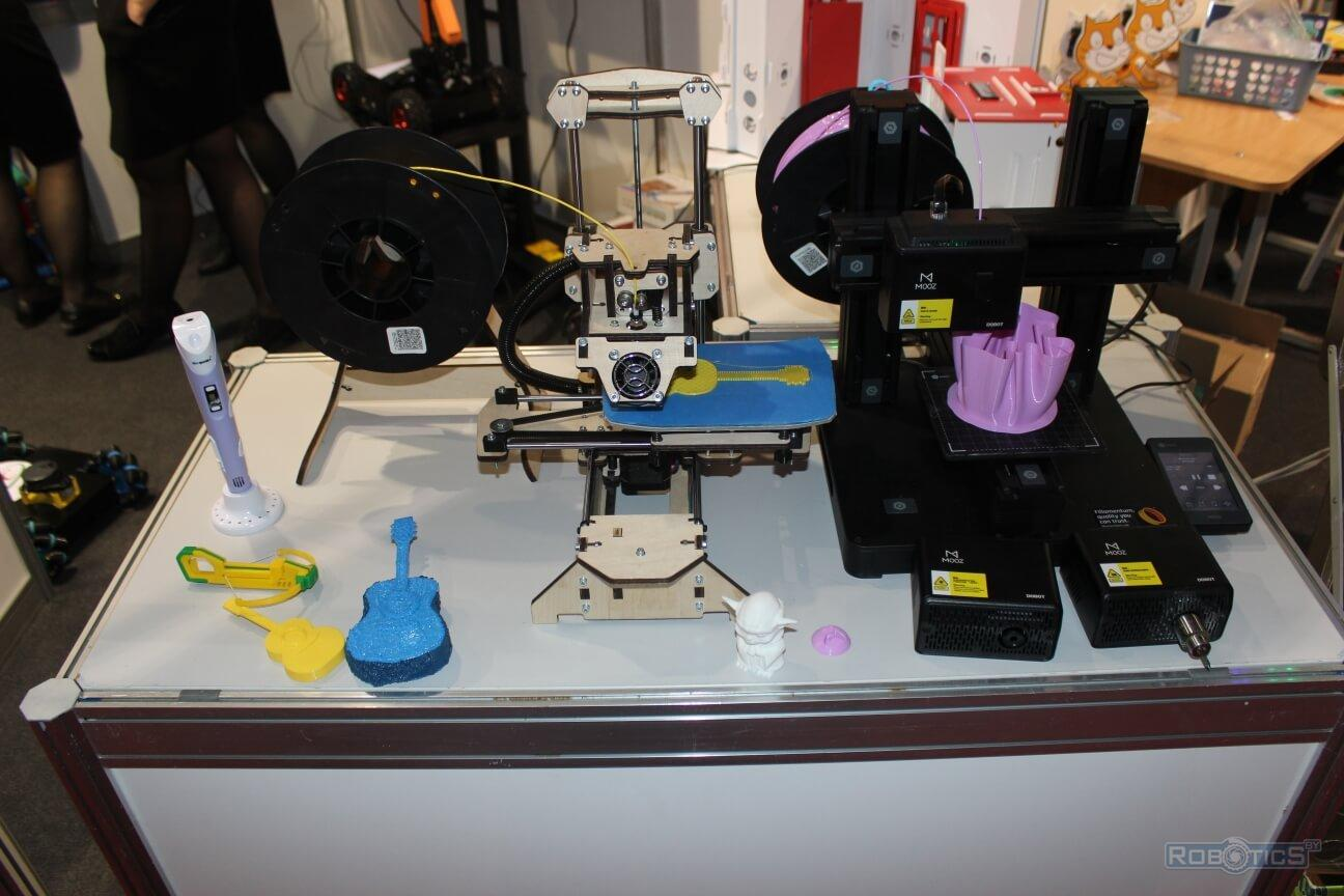 "3-D printers at the ""TIBO-2019"" exhibition"