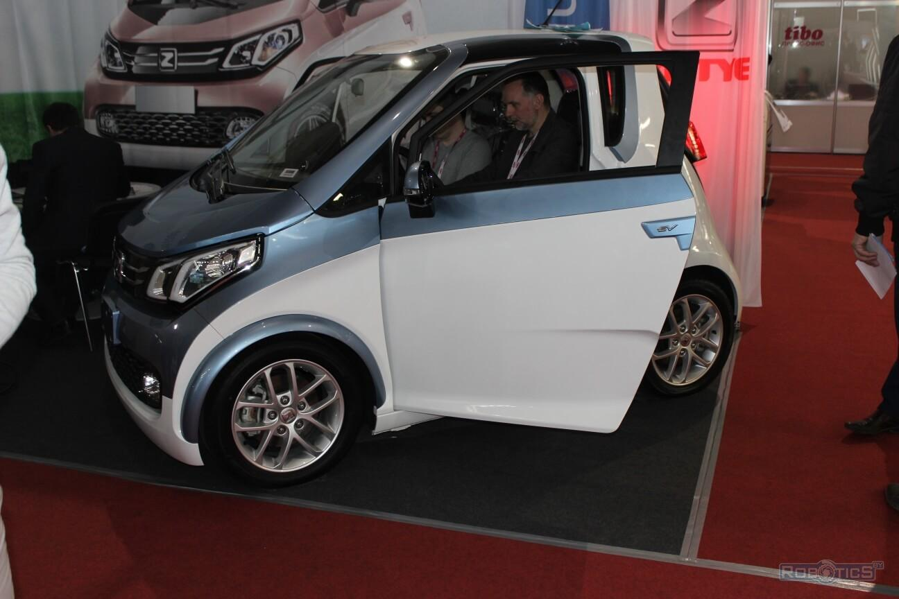 "Electric car ZOTYE E200 manufactured by JV CJSC ""Unison"""