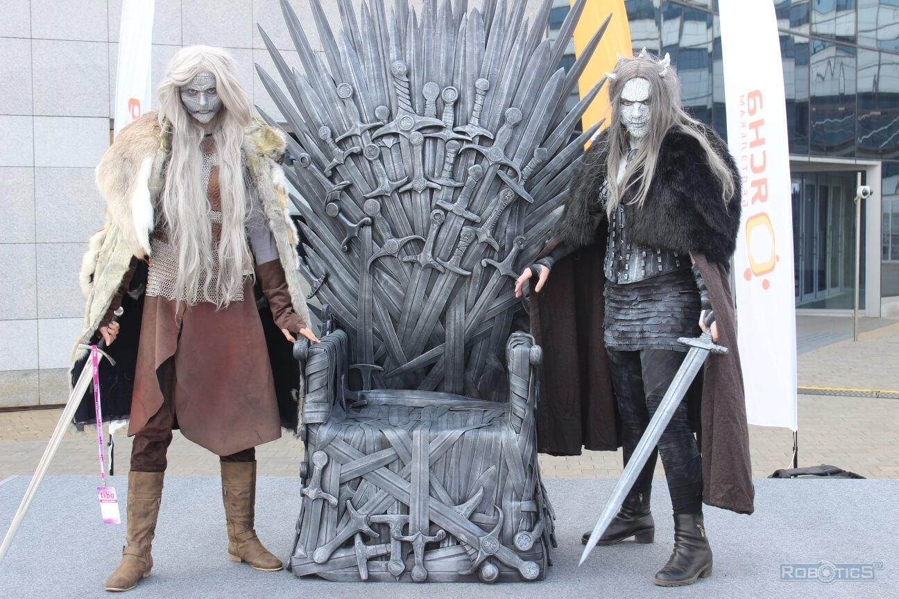 "Animators based on the series ""Game of Thrones"" at the ""TIBO-2019"" exhibition"