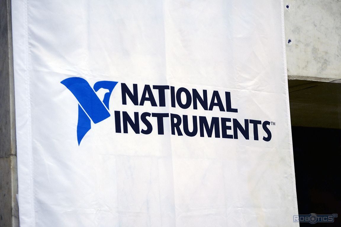 Баннер спонсора NATIONAL INSTRUMENTS.