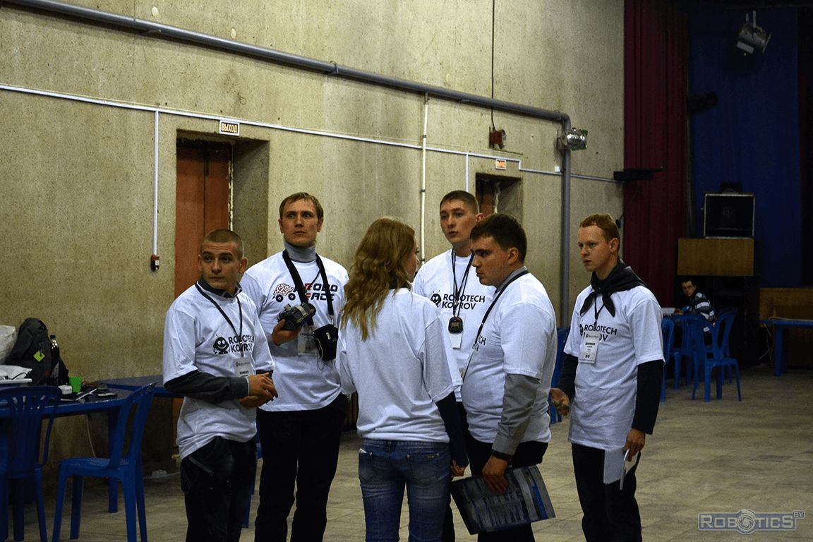 Participants of competition «ROBOTECH KOVROV».