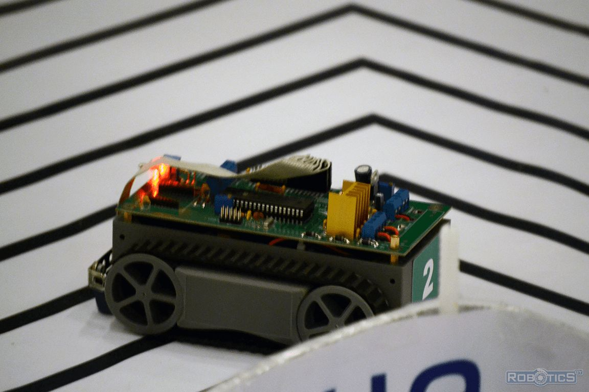 An autonomous robot of our team.