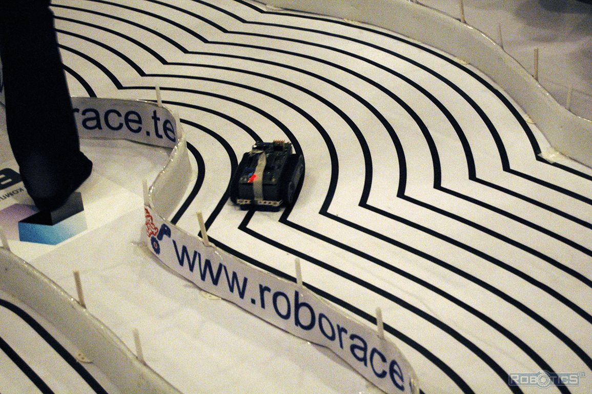 Сompetition episode RoboRace.