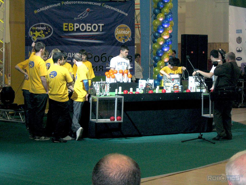 Конкурс eurobot.