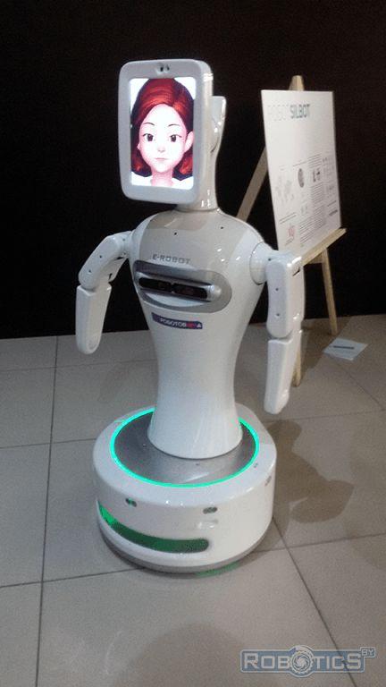 The robot Boris, and officially Silbot.