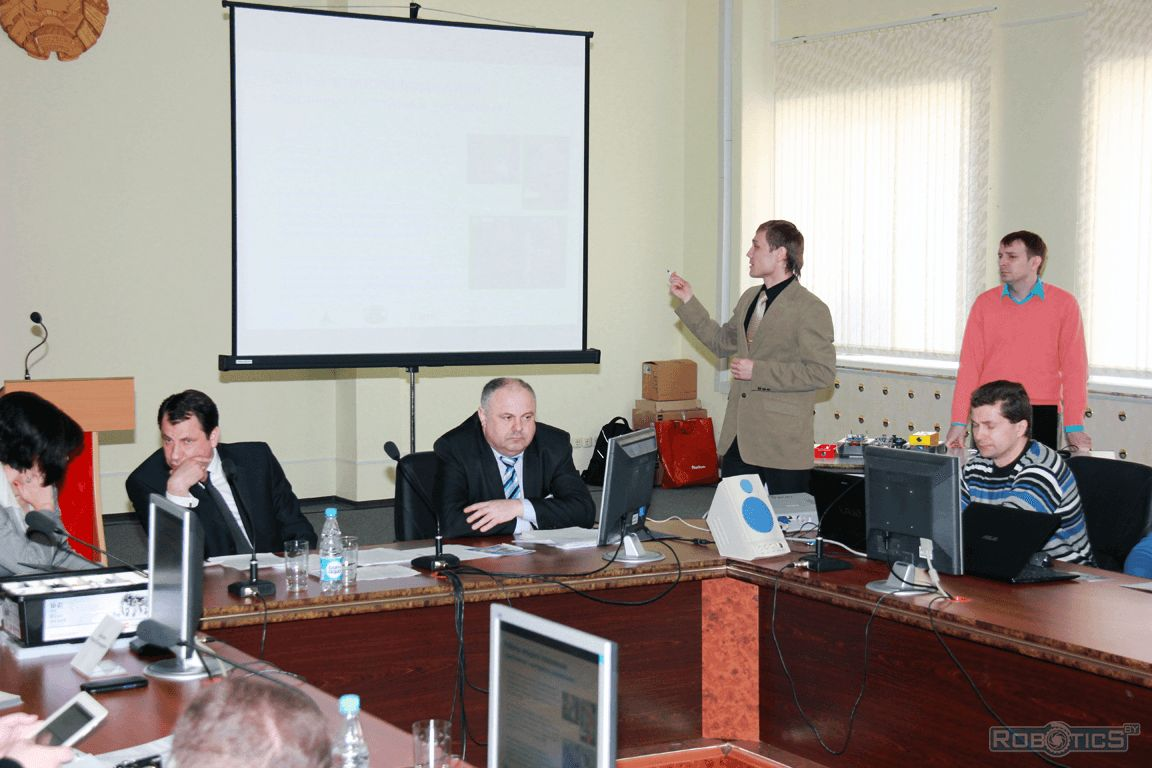 Gregory Prokopovich present a report