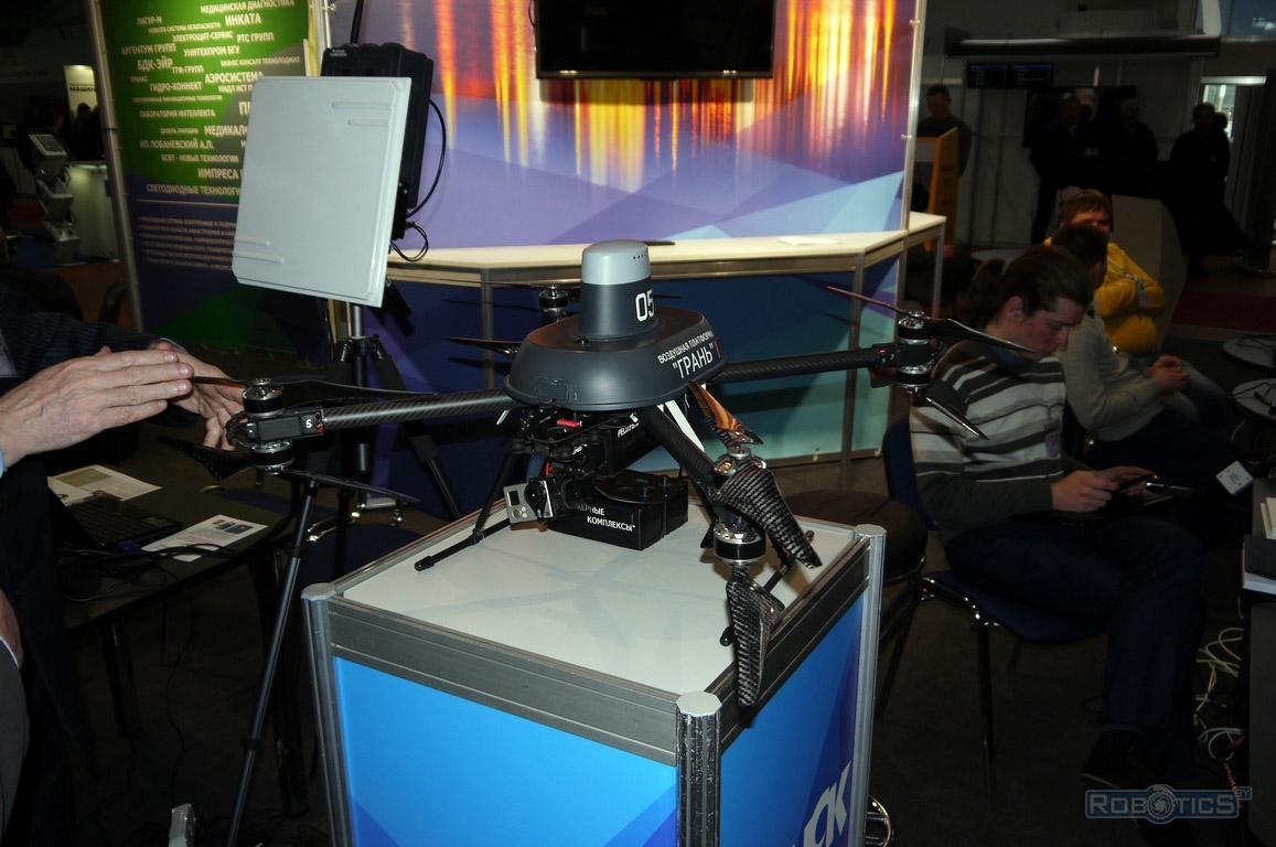 Aerial platform 'Fringe' Belarusian multicopter
