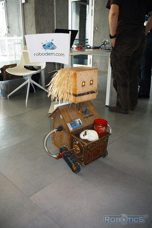 Robot panhandler Derevyaka.