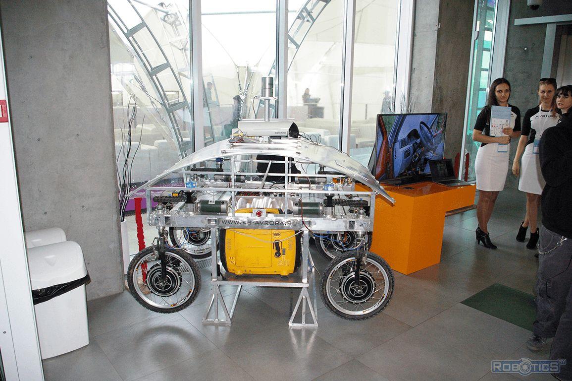 Проект «Отладочная платформа для тестирования ПО автопилота ТС» от команды ООО «КБ-Аврора».