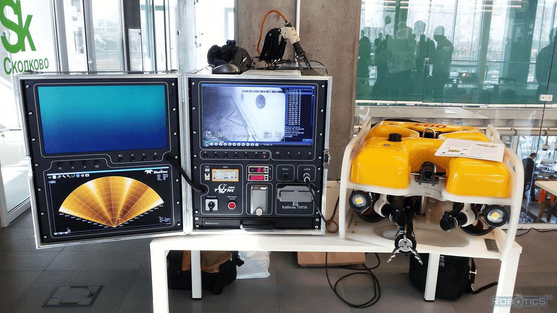 Система управления подводным роботом ГНОМ.