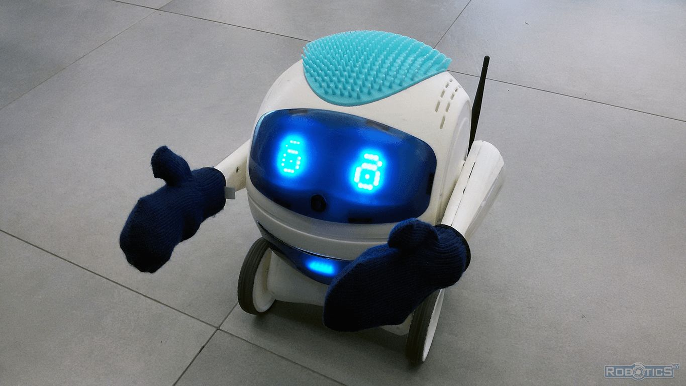 Developmental robot kolobok Lessi.