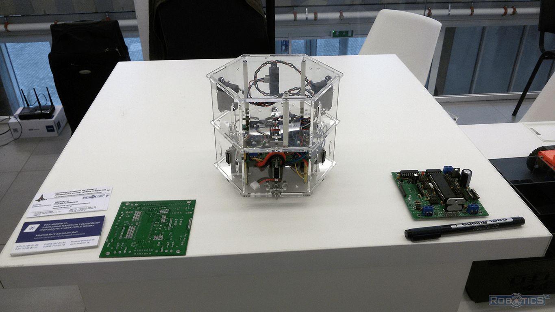 Robotics constructor «RoboCake» UIIP NASB robotics sector.