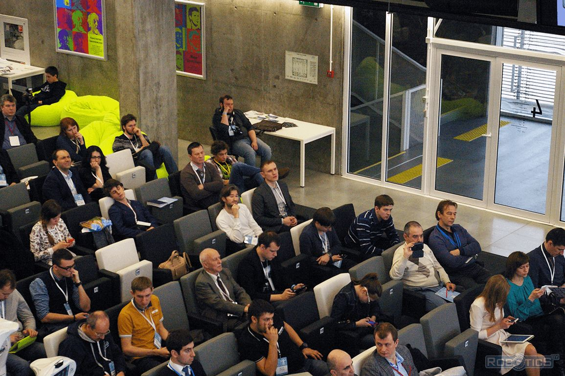 Prokopovich Grigoriy Aleksandrovich takes part in the III International Conference «Skolkovo Robotics».