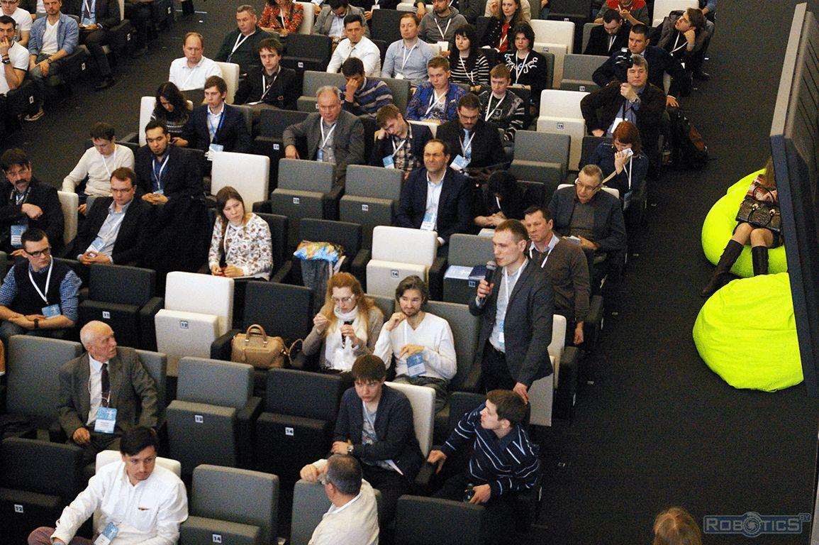 Прокопович Григорий Александрович принимает участие в III Международной конференции «Skolkovo Robotics».