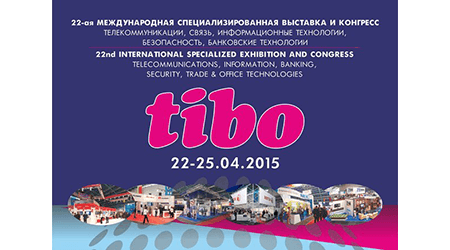 22.04.2015 From 22 to 25 April 2015 in Minsk was held XXII International Specialized Forum on Telecommunications, Information and Banking Technologies «Tibo-2015».