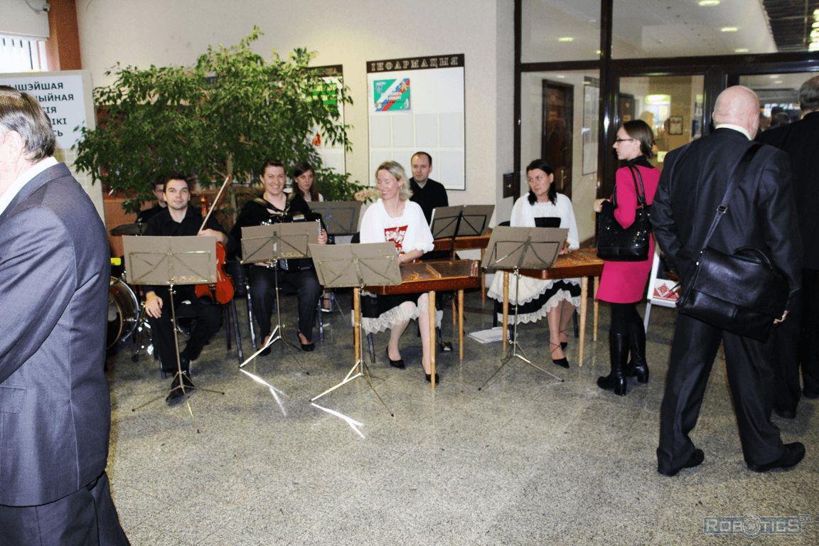 Праздничный концерт для участников выставки.