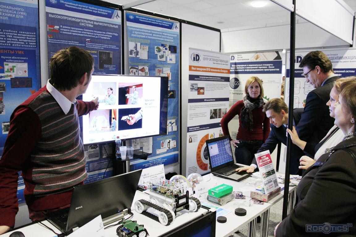 Сергей Герасюто рассказывает об особенностях внедрения технологий робототехники.