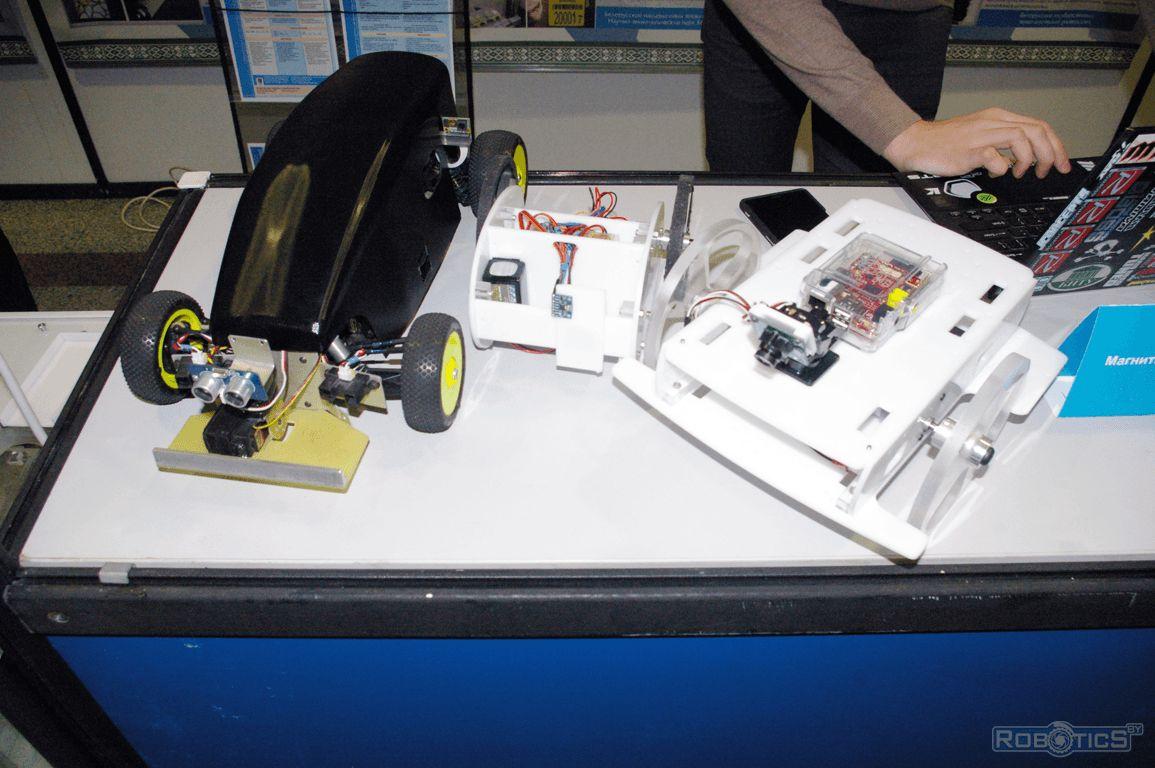 Maxim Masalsky mobile autonomous robots.