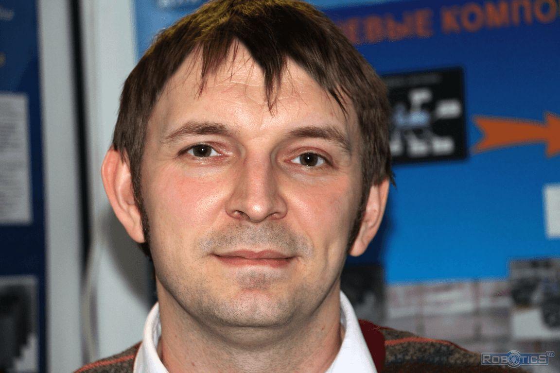 Сергей Герасюто - заведующий сектором робототехники ОИПИ НАН Беларуси.