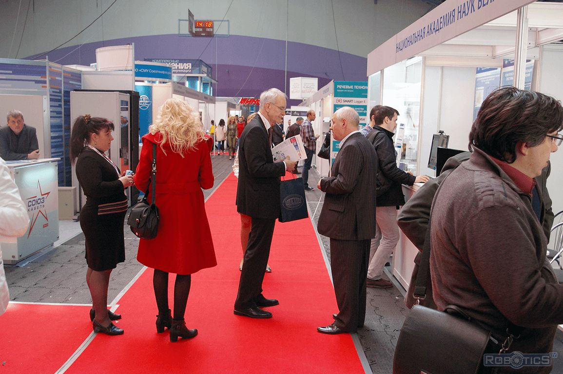 Visitors of the exhibition «Tibo-2013».