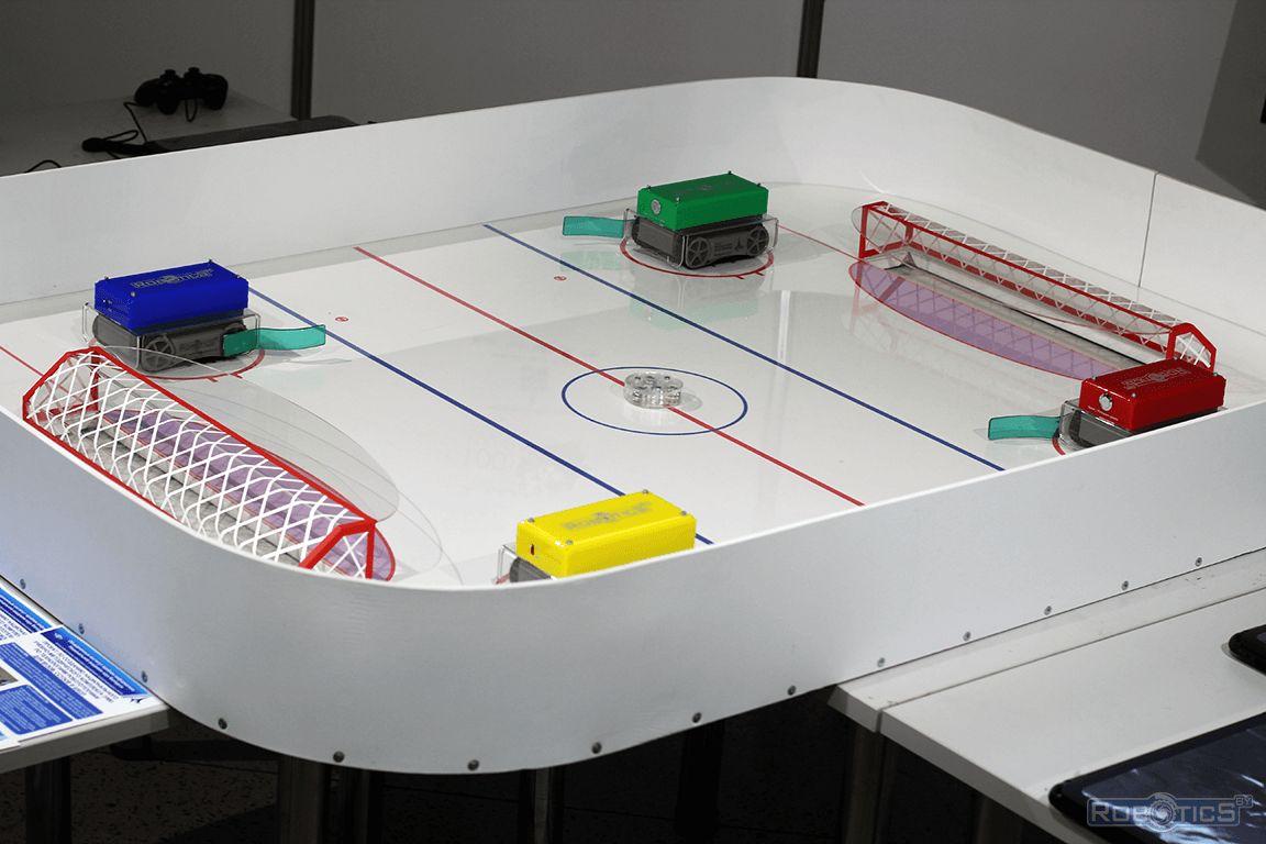 Hockey robots.
