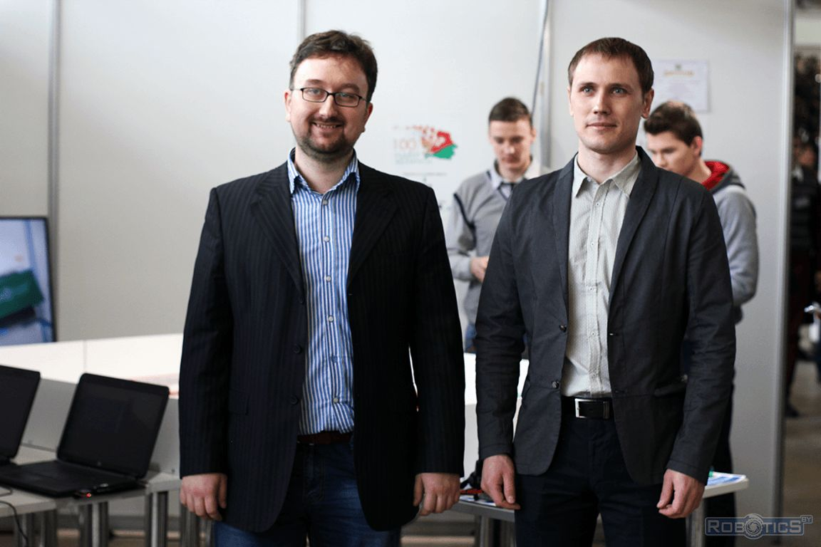 Vladislav Anatolevich Sychev and Prokopovich Grigoriy Aleksandrovich on the project «100 ideas for Belarus».