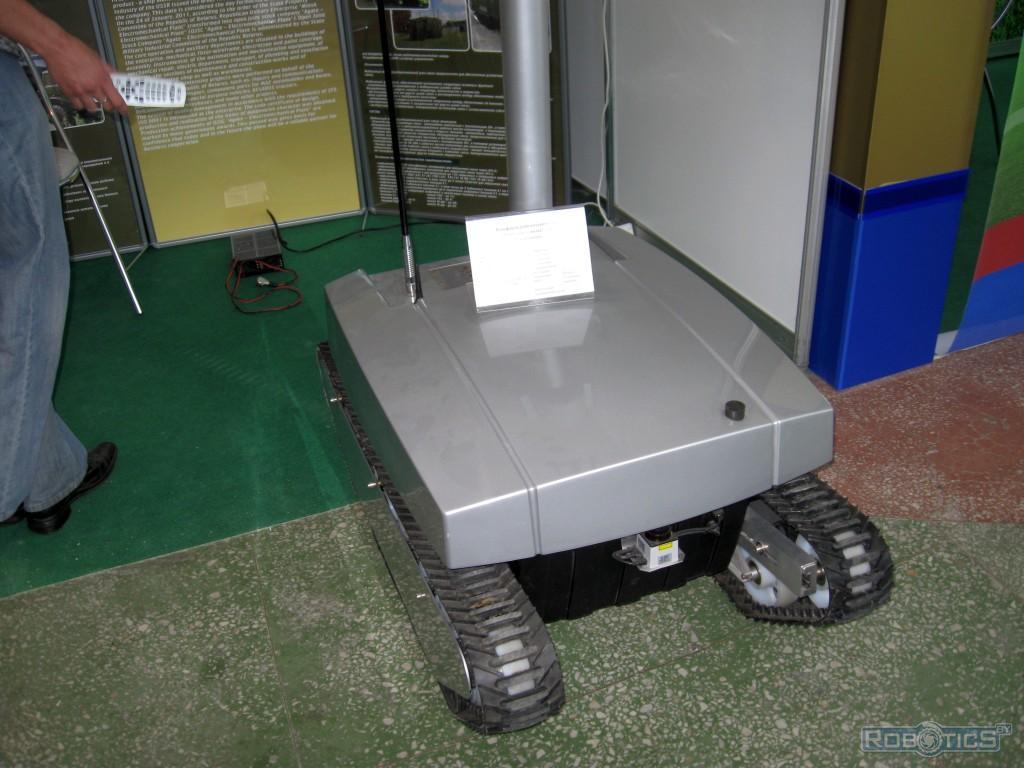 "Platform robotics a special purpose ""Salamander""."