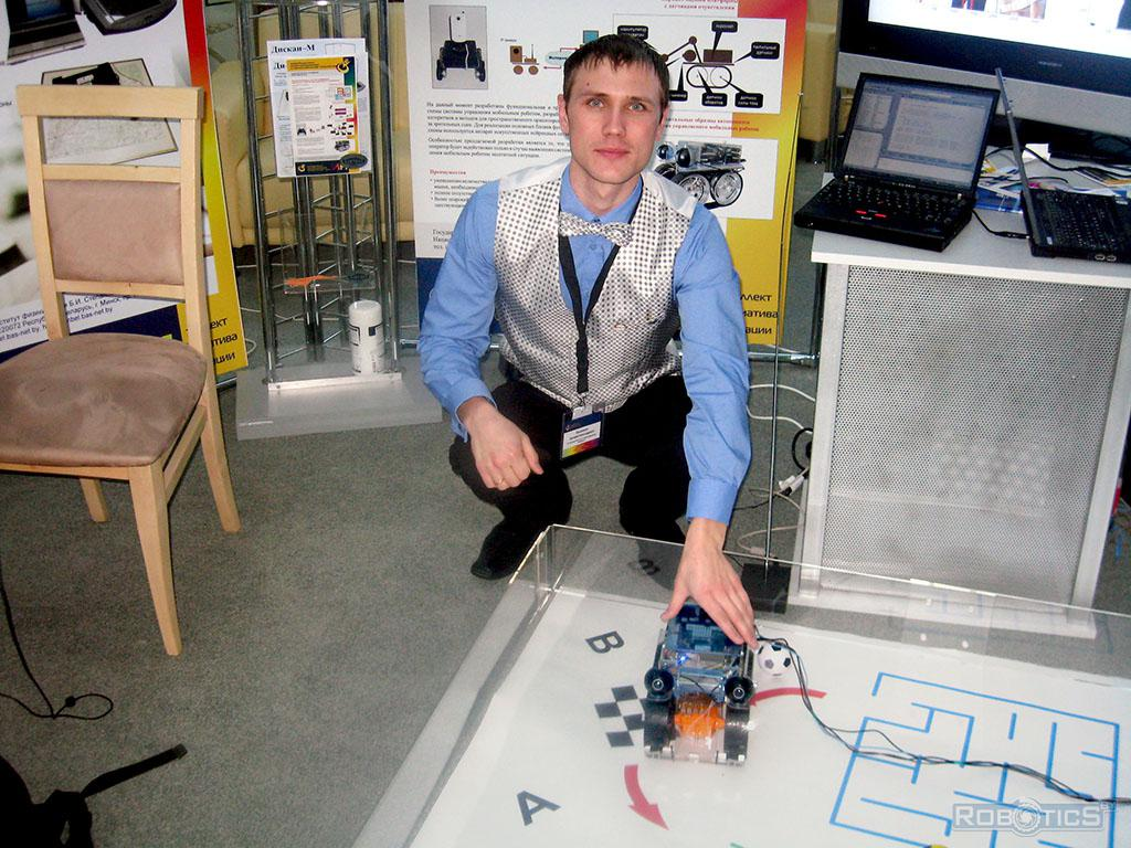 Prokopovich Grigory at the Youth Innovation Forum «ИНТРИ» – 2010.
