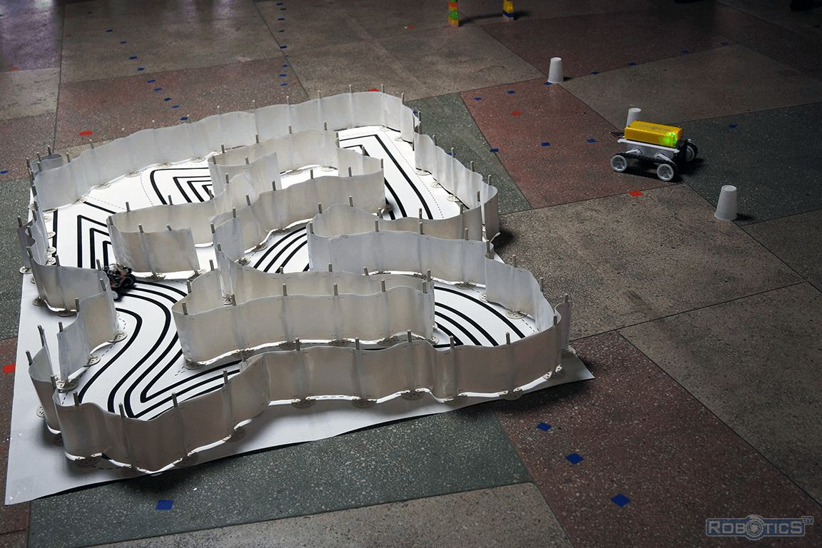 Arena RoboRace mini.