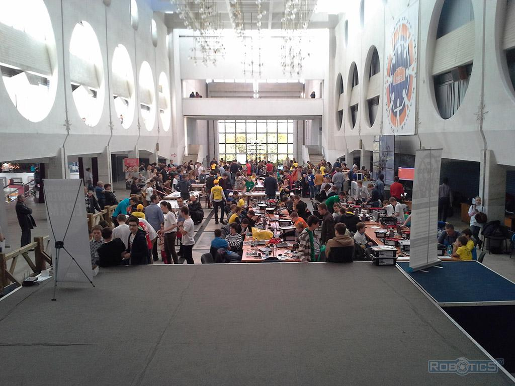 IV Minsk open Robo Tournament - competitive area.